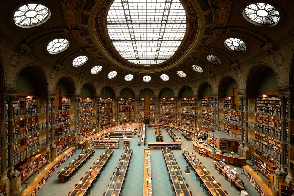 LibraryinFrance