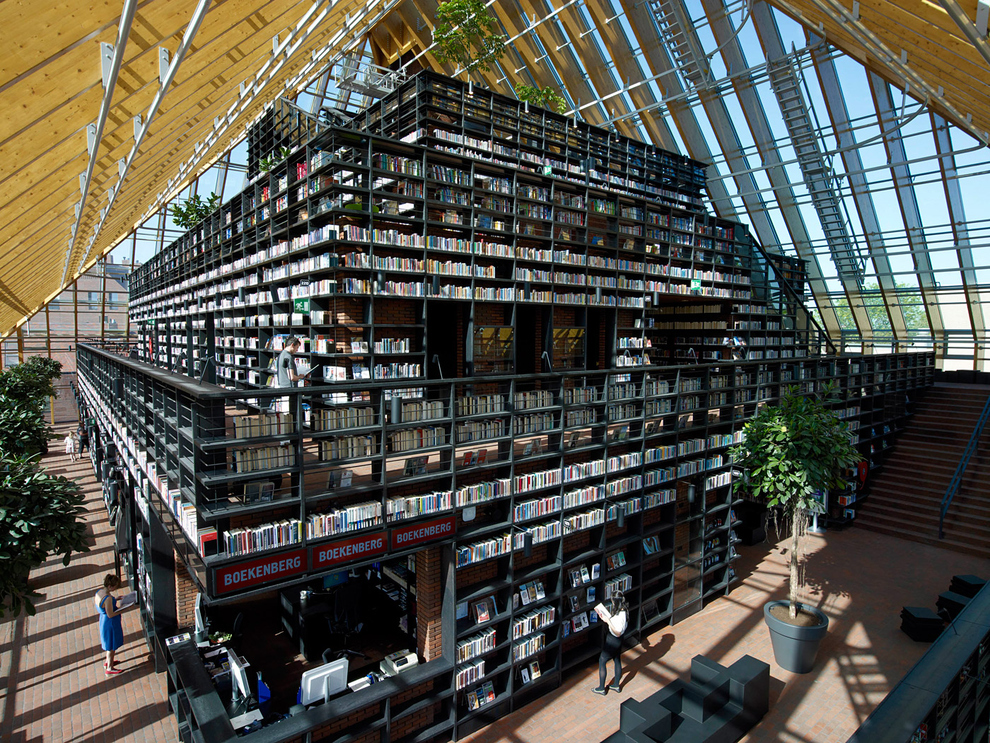 This library in The Netherlands
